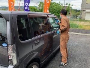 黄砂VS洗車