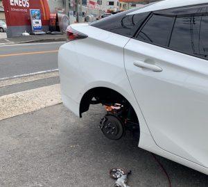 タイヤ交換🔧