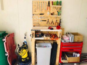 お手製工具棚🔧🔨
